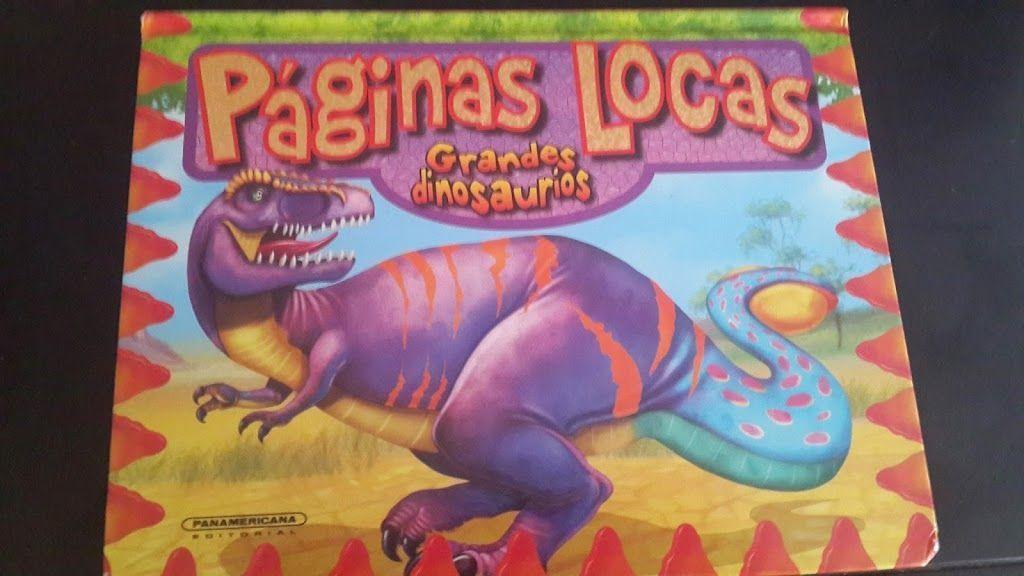 """Páginas Locas """"Grandes Dinosaurios"""" 4"""