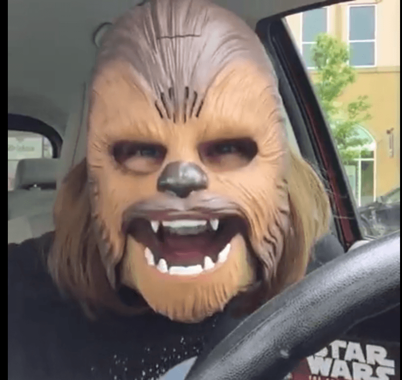 Soy fan de la mamá Chewbacca 1