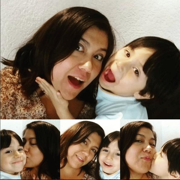 fotos de mamá y angelito