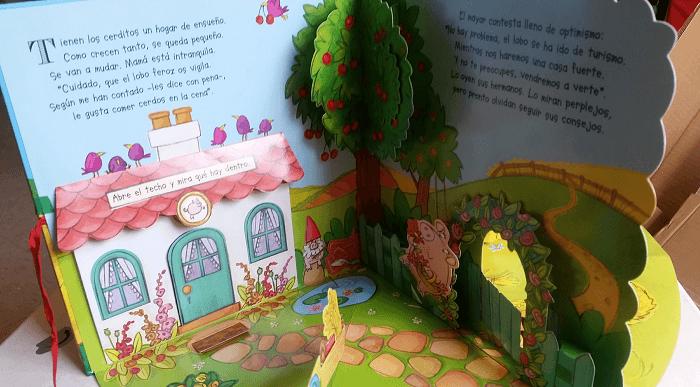 Historias que salen del papel: Un libro carrusel #Hoyleemos 1