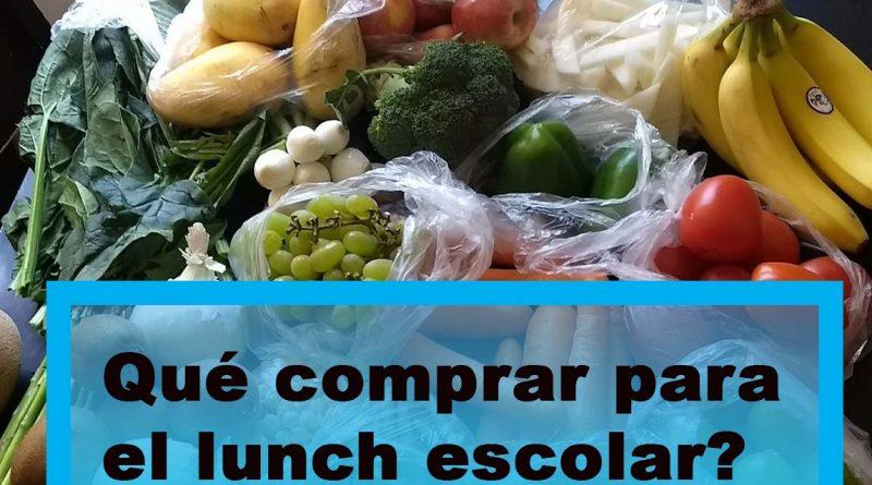 Qué comprar para el lunch escolar?