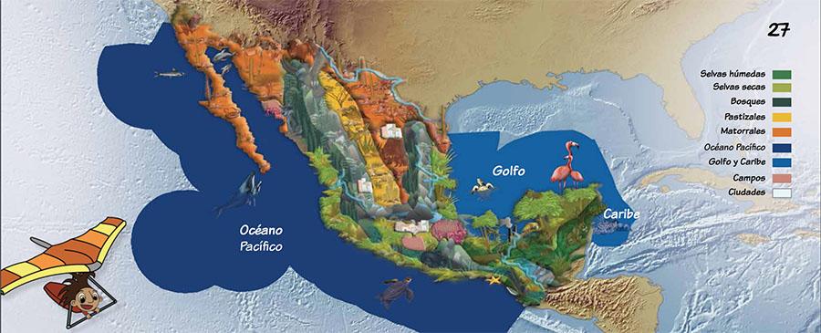 ecosistemas-biodiversidad de México
