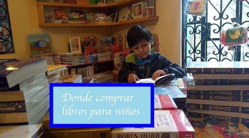 donde comprar libros para niños