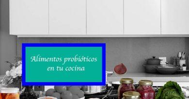 Alimentos probióticos en tu cocina