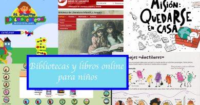 Bibliotecas y libros online para niños