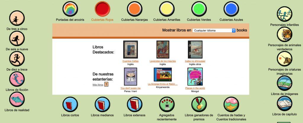 Bibliotecas y libros online para niños 1
