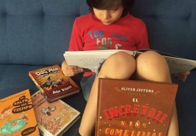 el increíble niño come libros