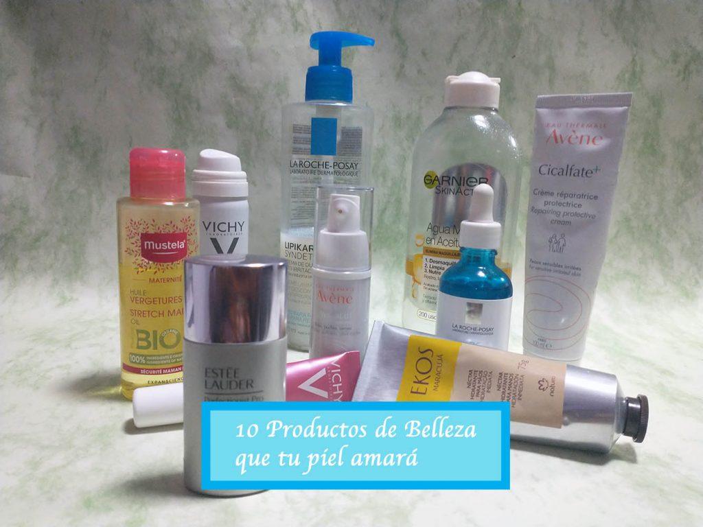 10 productos de belleza